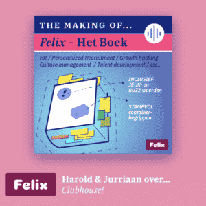 Podcast over Clubhouse Felix Community